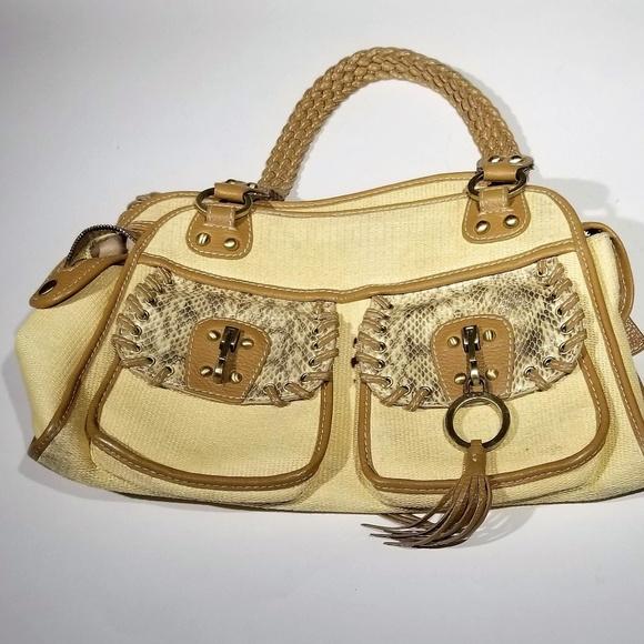 0121a3cb7a rafe New York Tan purse - perfect condition